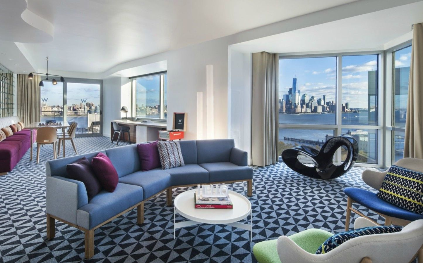 Wow Suite. Hoboken Accommodations. Wow Suite Living Room